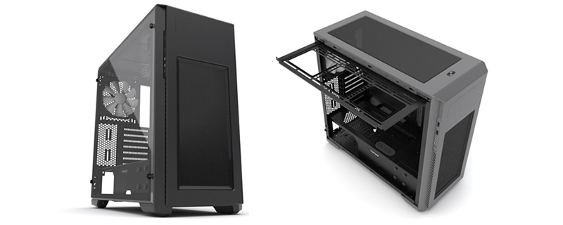 Phanteks Release their Enthoo Pro M Full Acrylic Window Edition