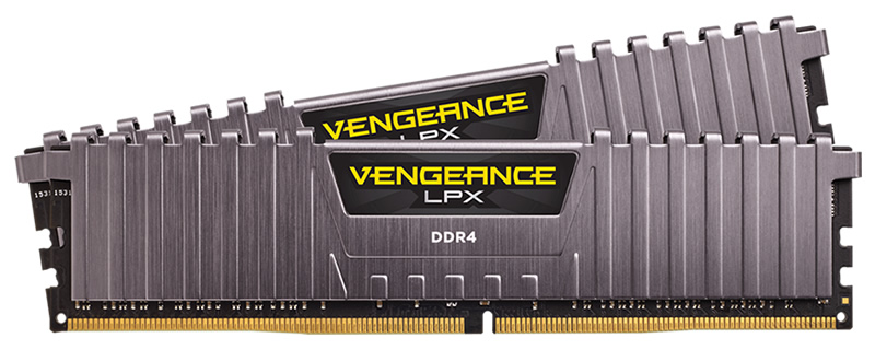 Corsair Release Vengeance LPX Cool Gray Memory