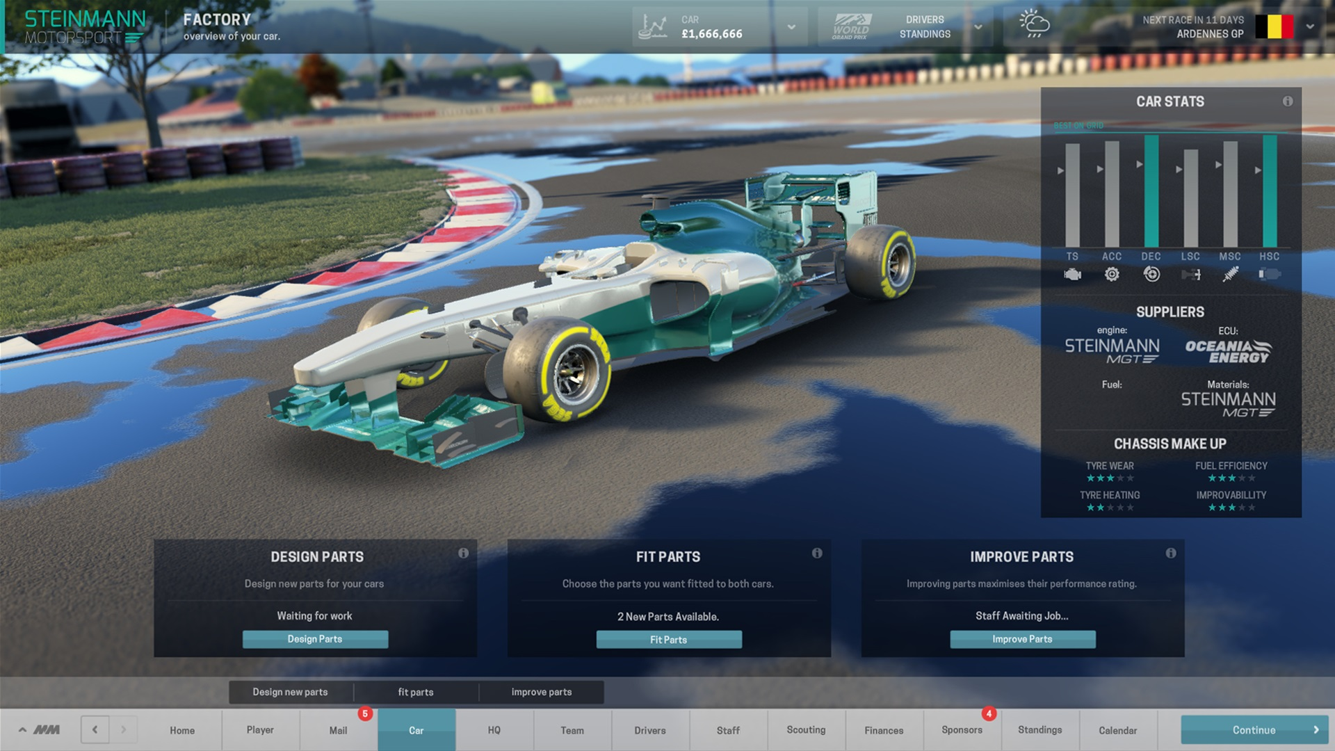 Motorsport Manager is coming to PC in September