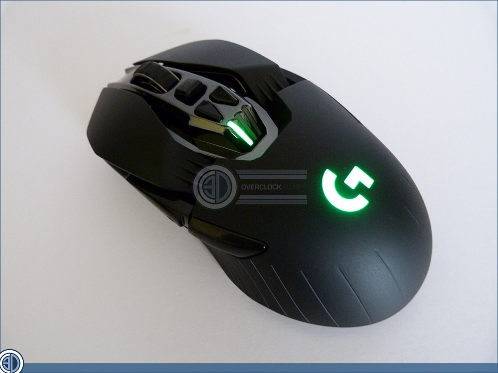 OC3D :: Review :: Logitech G900 Chaos Spectrum Review :: Adjustable Features and Lighting