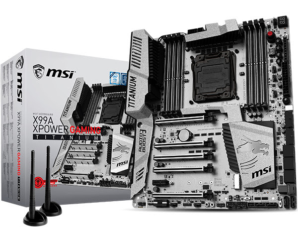MSI Launches new X99 and Z170 Titanium motherboards
