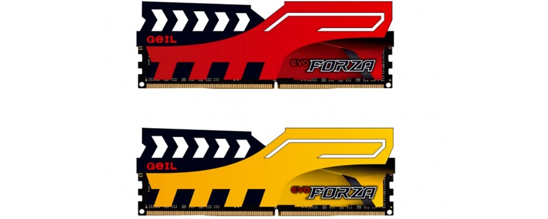 GeIL Announce their EVO Forza Line of Memory