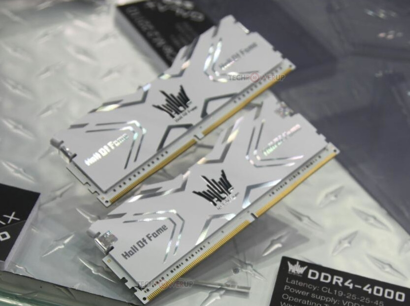 Galax Reveals their Gamer series and Hall of Fame series DDR4 memory
