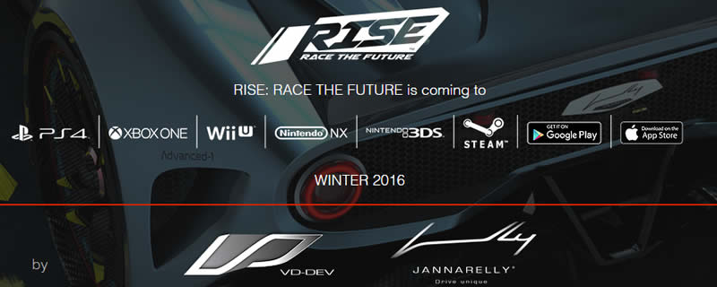 RISE: Race to the Future will be coming to Nintendo NX