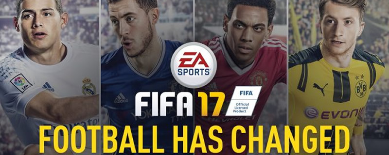 FIFA 17 will use DICE's Frostbite Engine