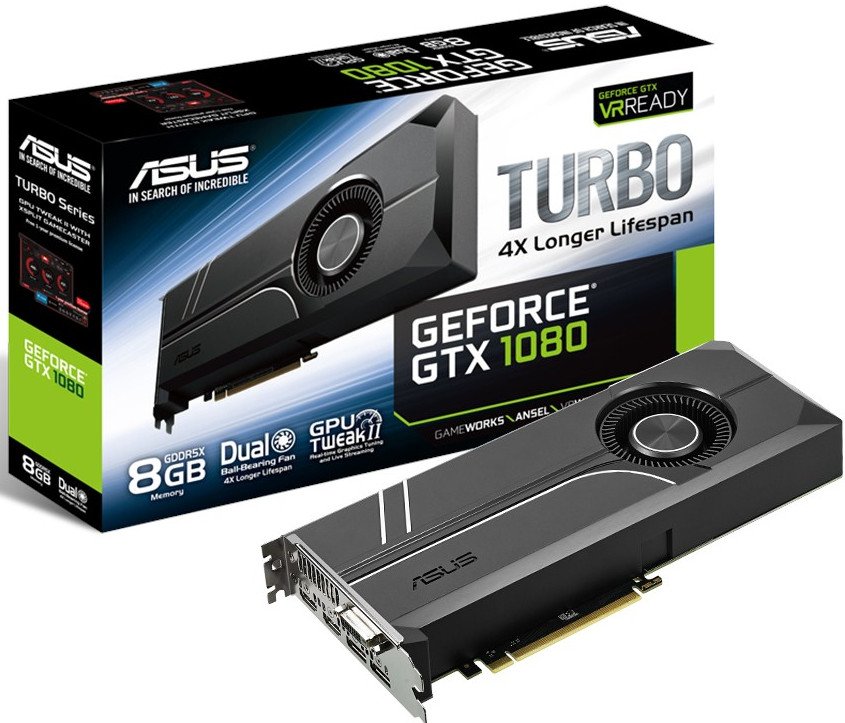 ASUS announce value oriented GTX 1080 Turbo GPU