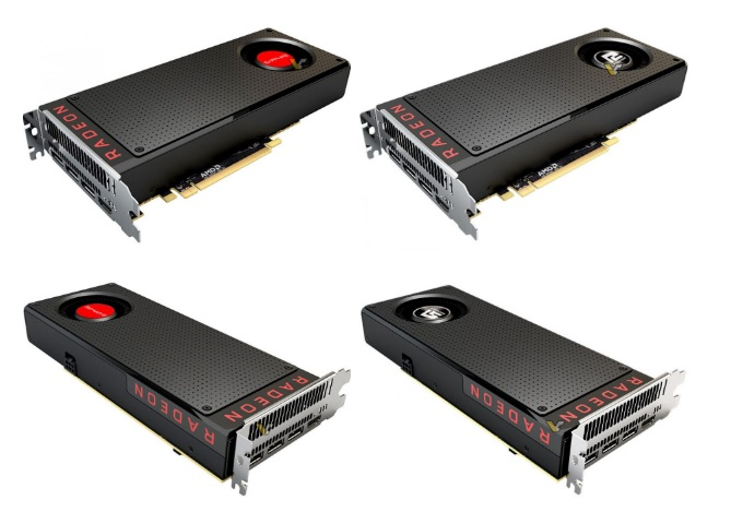 Sapphire and Powercolor RX 480 GPUs pictured