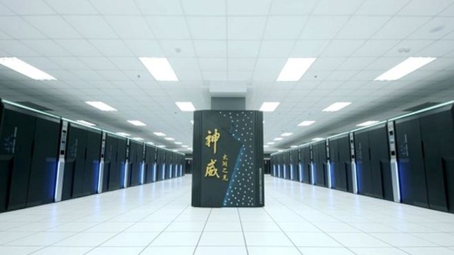 China builds world's most powerful supercomputer