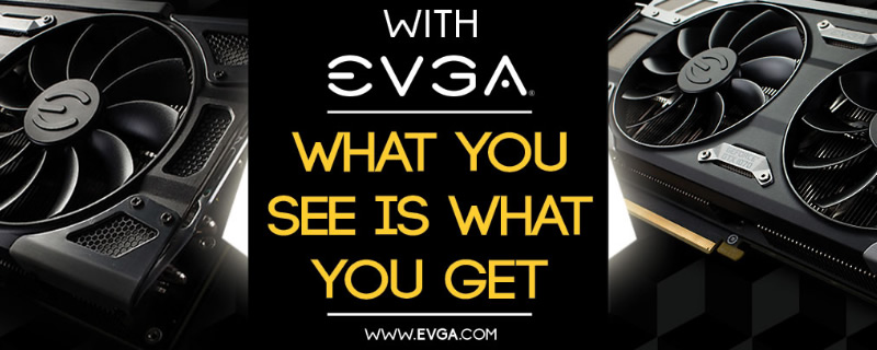 EVGA confirms that they do not give