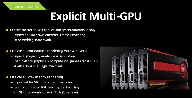 Microsoft plans to simplify Multi-GPU support in DirectX 12