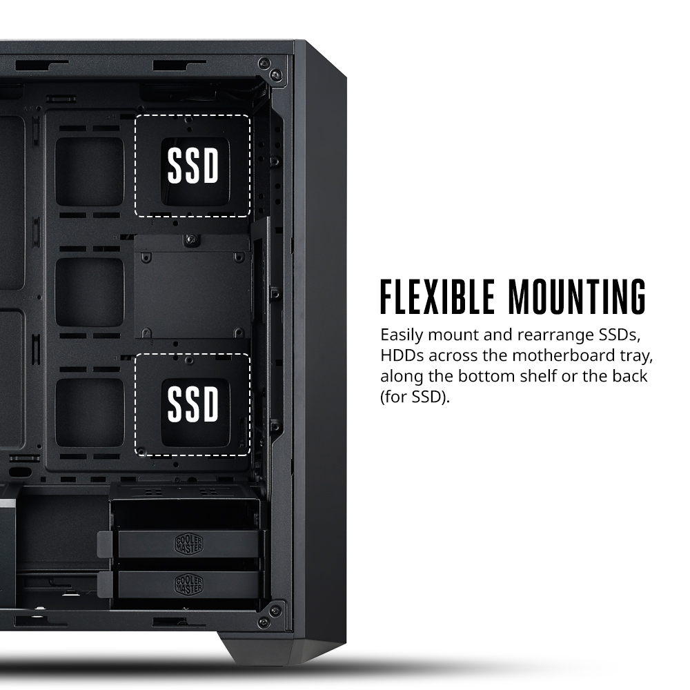 Cooler Master launch their MasterBox 5 chassis