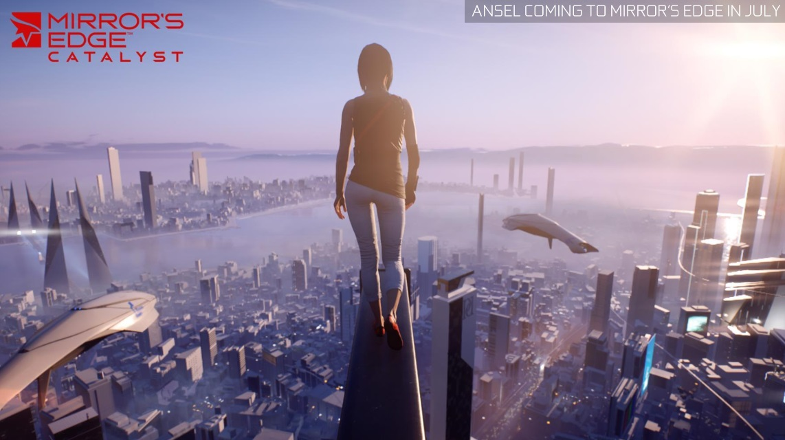 Nvidia Ansel will be coming to The Witcher 3 and Mirror's Edge Catalyst this month