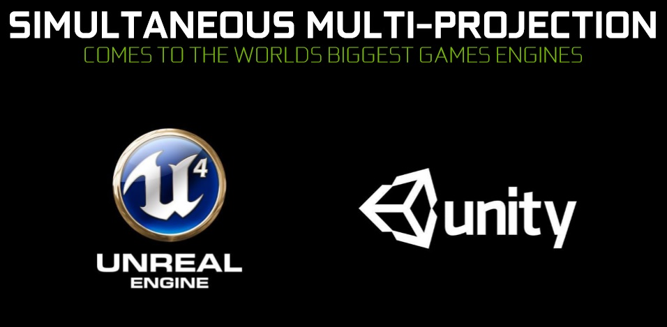 Simultaneous Multi-Projection is coming to two major game engines and over 30 games