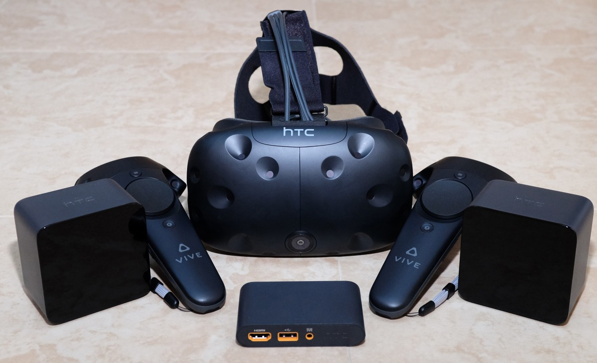 An HTC Vive 2.0 VR headset may be releasing later this year