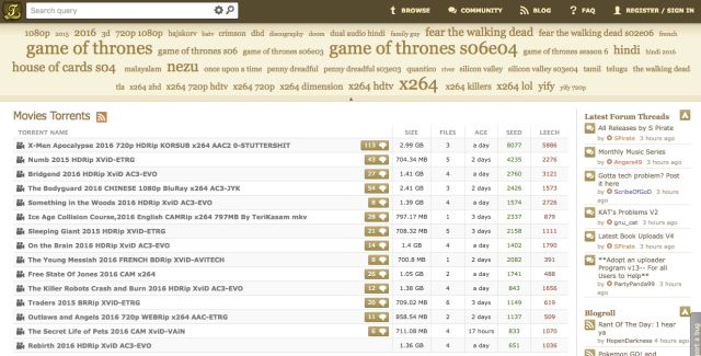 The US Government has arrested the owner of KickAssTorrents
