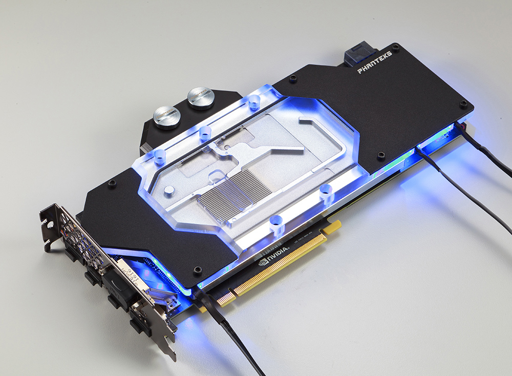 Phanteks release their Glacier G1080 GTX 1080 Water Block