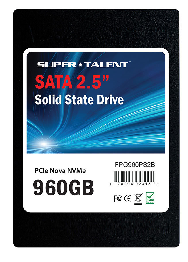 Supertalent announce their PCIe Nova U.2 SSD