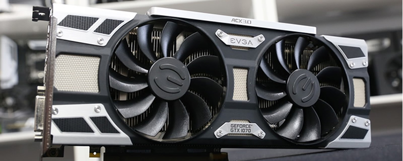 EVGA GTX 1070 Superclocked Review