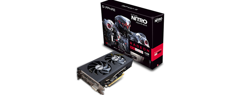 Sapphire's RX 460 Nitro OC has been pictured