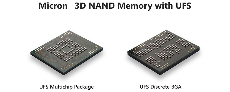 Micron launches their new 3D UFS SSDs for portable devices