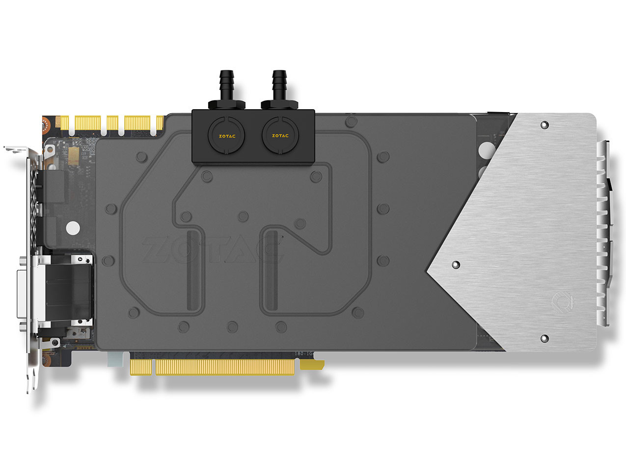 Zotac has unveiled their water cooled GTX 1080 Arctic Storm