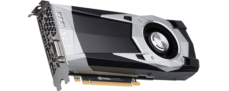 Nvidia showcase a GTX 1060 3GB GPU at a Chinese Press conference