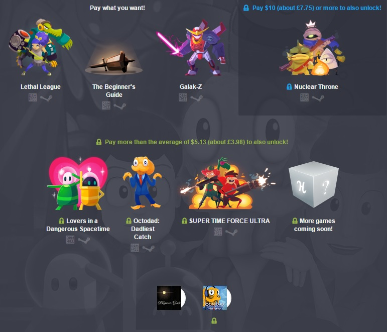 The Humble Indie Bundle 17 has been released