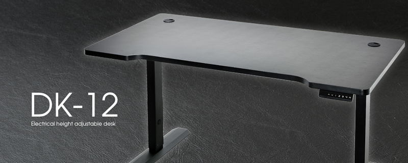 Lian Li announce their DK-12 and DK-16 height adjustable desks