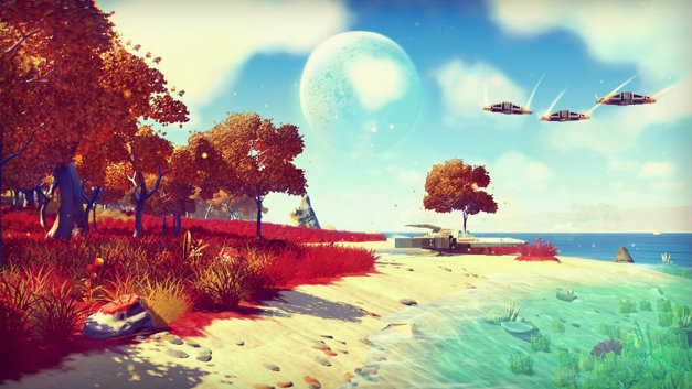 No Man's Sky has received a new PC patch