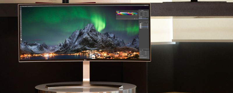LG announces the world's largest 21:9 display