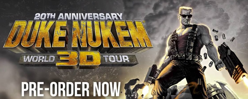 Duke Nukem 3D: 20th Anniversary World Tour will feature