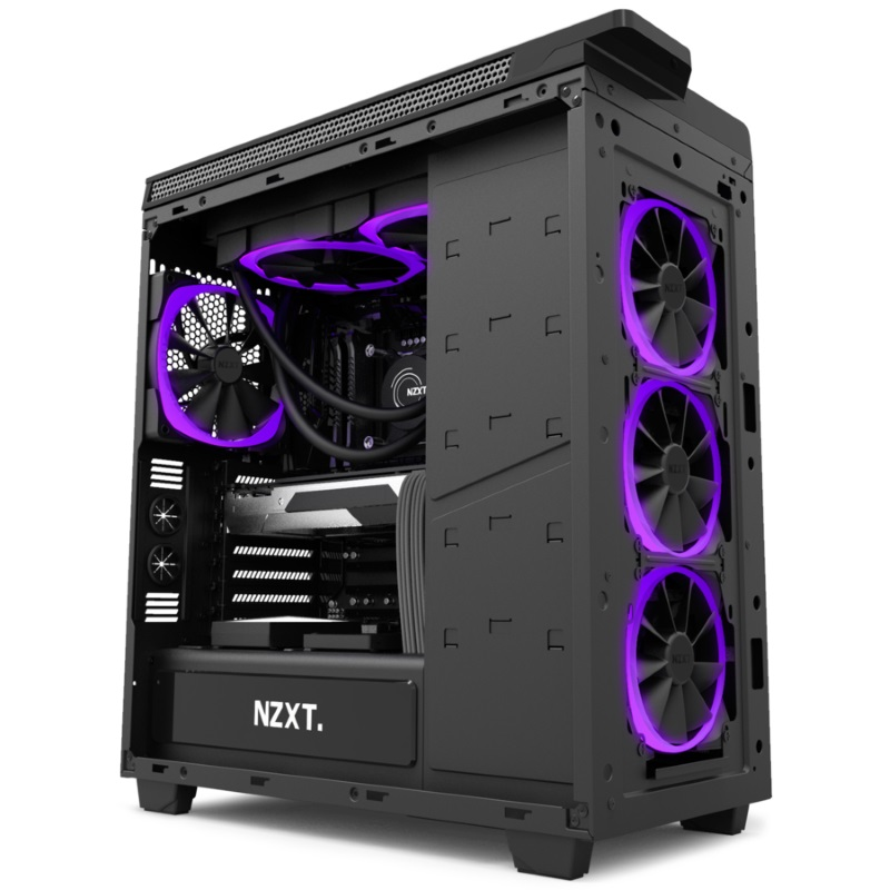 NZXT announces their new Aer series of RGB Fans