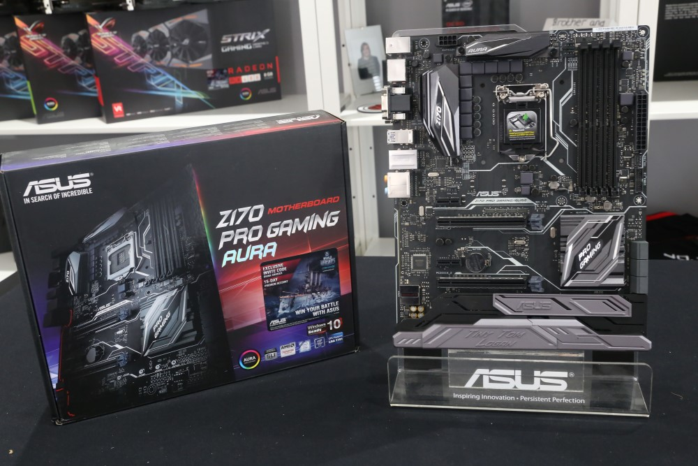 ASUS Z170 Pro Gaming Aura Preview - A look at 3D Printing