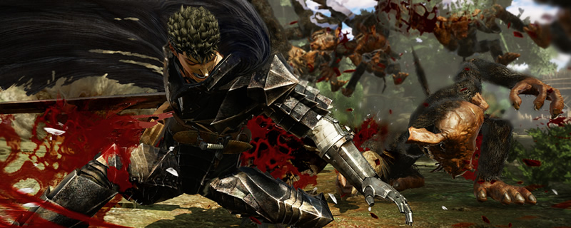 Berserk and The Band of the Hawk will be coming to PC on February 24th 2017