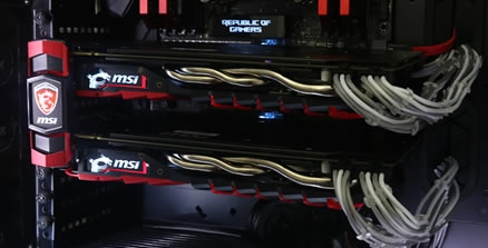 MSI GTX 1070 Gaming X SLI Review