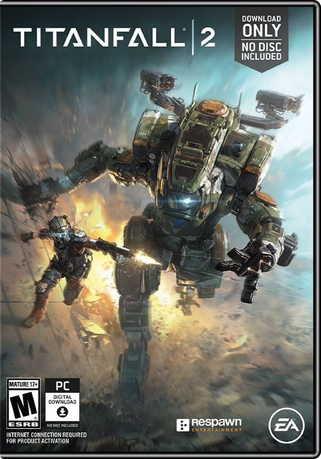 The physical release of Titanfall 2 on PC will contain no physical media