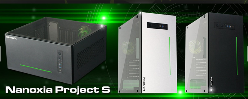 Nanoxia announces their Project-S Silver chassis