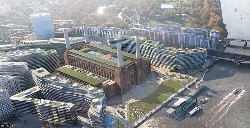 Apple will be creating their new London Headquarters at Battersea Power station
