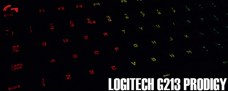 Logitech G213 Prodigy RGB Keyboard Review