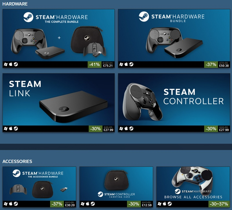 Steam Hardware weekend sale
