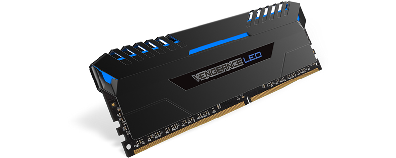 Corsair have released new Vengeance Blue LED memory