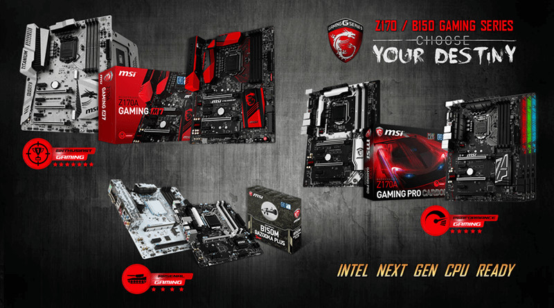 MSI releases Kaby Lake ready BIOS updates for LGA 1151 motherboards