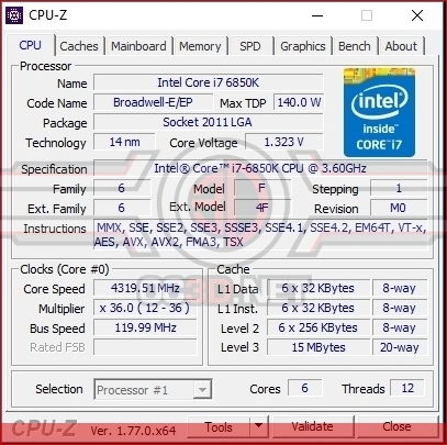 PC Specialist LS-X01 Overclock Speed