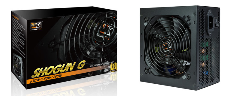 XIGMATEK has unveiled their Shogun G series of PSUs