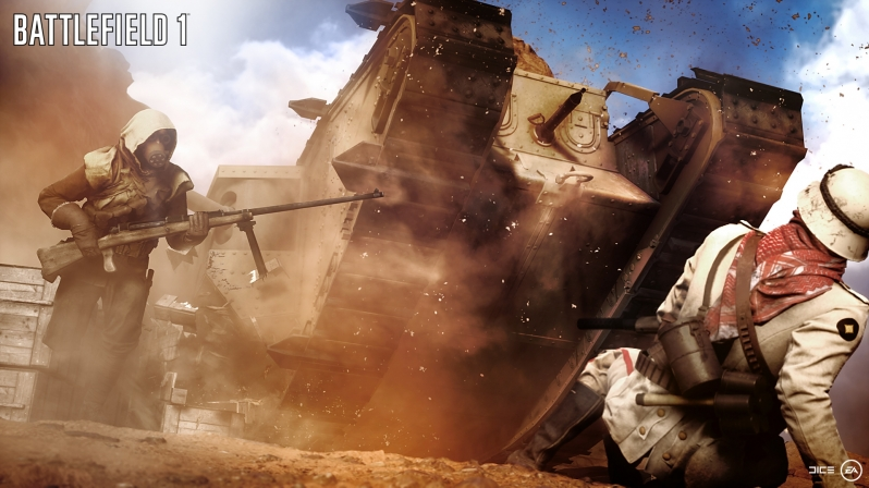 All Battlefield 1 rental servers will be operated by EA