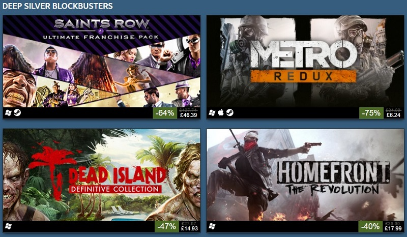 Deep Silver Steam publisher weekend