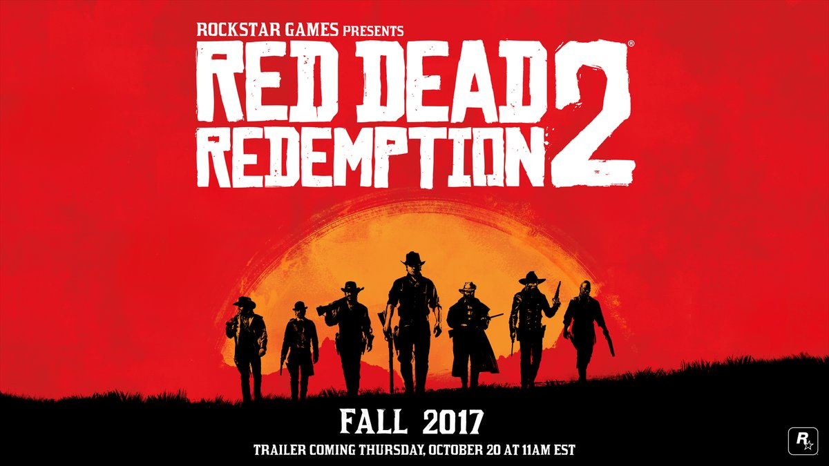 Rockstar Games has officially announced Red Dead Redemption 2