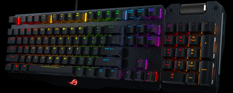 ASUS will soon release their ROG Claymore RGB Gaming Keyboard