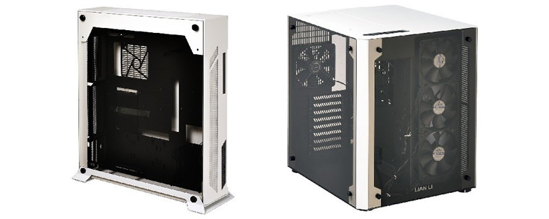 Lian Li releases new white variants of their O-Series cases