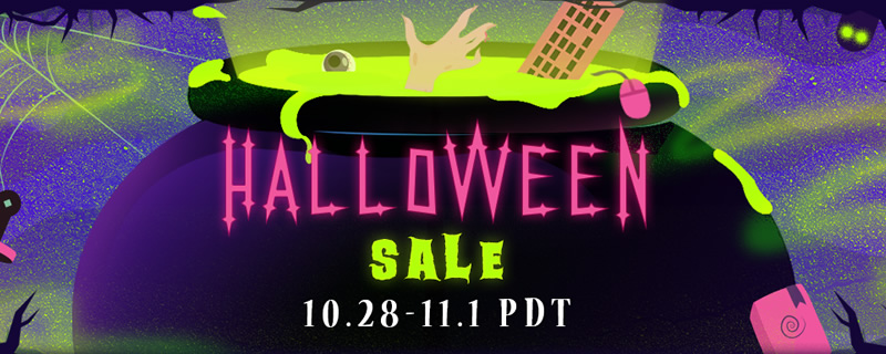 The Steam Halloween sale has now started